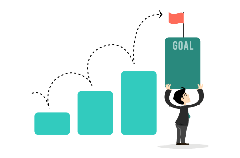 Grow small business sales with goals